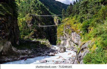 River on the Everest Base Camp Trek