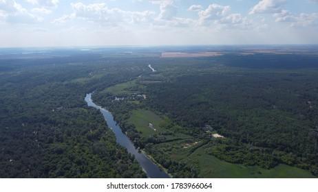 River Orel near obuhovka town