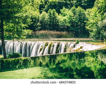 River Pliva Waterfall