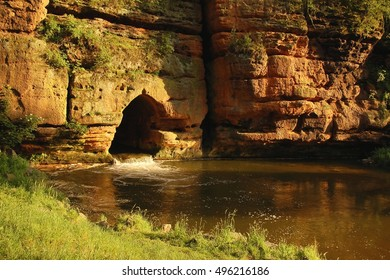 River Ploucnice Czech republic
