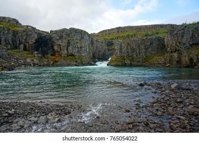 River pool near Egilsstaðir