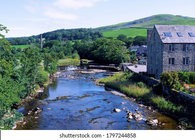 The River Ribble flows through Settle, Clitheroe. Ribchester and  Preston.