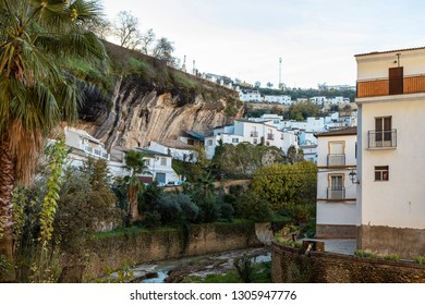 """River """"Rio Trejo"""" in Setenil de las Bodegas"""