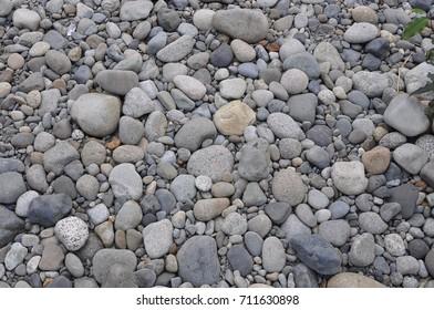 River rocks in a background pattern