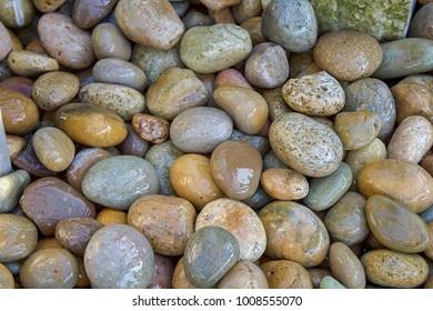 River Rocks Close up