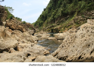 River in rocky valleys