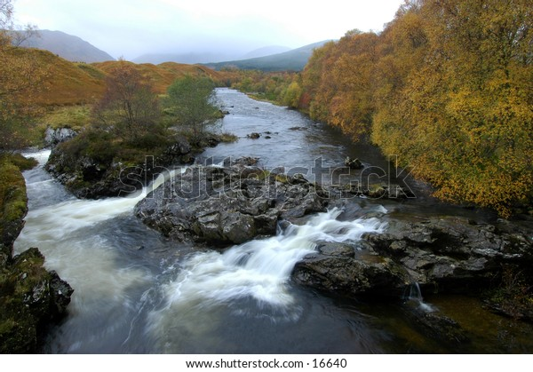 River In The Scottish Highlands