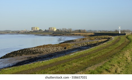River Severn & Disused Berkeley Power Station, Gloucestershire