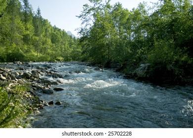 river Sludianka