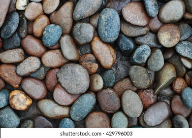 It is River stones background.