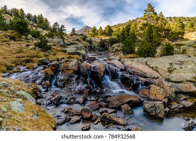 The River of Tet (Capcir, France Pyrenees Mountains)