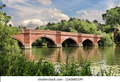 The River Thames at Clifton Hampden in England