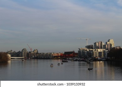 The River Thames from Putney, in London