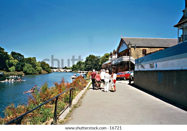 River Thames at Richmond, Surrey, UK
