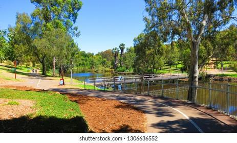 River Torrens in Adelaide