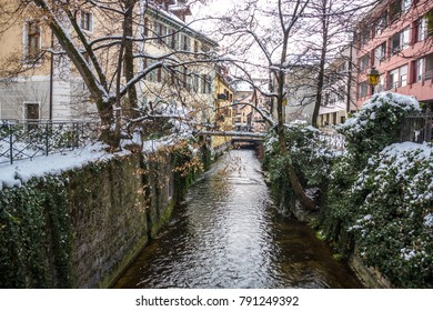 River in the town of Annecy in France