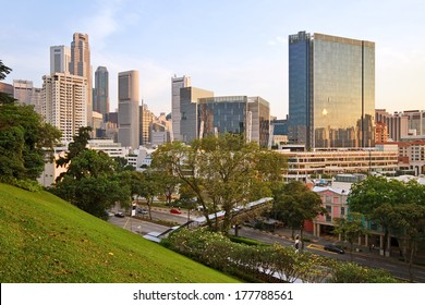 River Valley is Singapore's central business district.