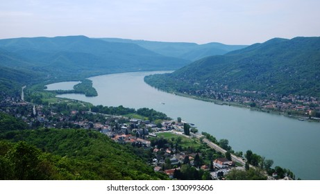 river view in Visegrád Hungary
