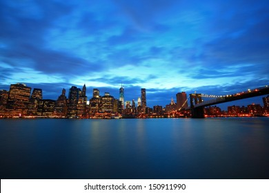 river view of Manhattan, New York