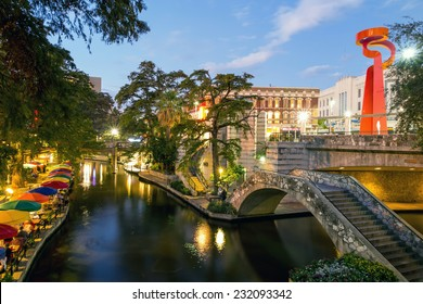 River Walk in San Antonio, Texas