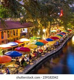 River Walk in San Antonio, Texas