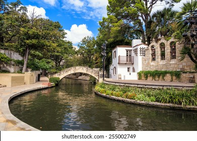 River Walk in San Antonio, Texas USA