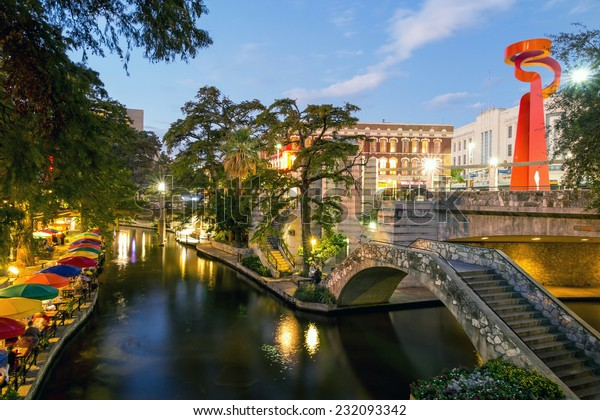 River Walk à San Antonio, Texas