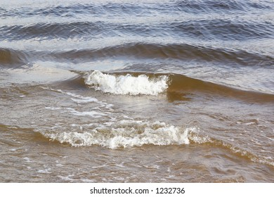 River waves