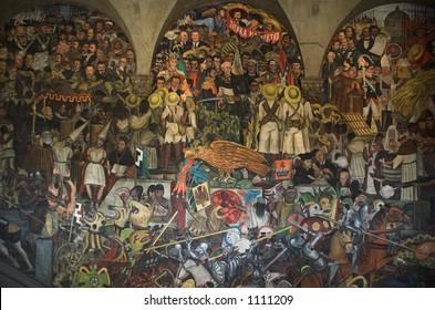 Rivera Mural Mexico