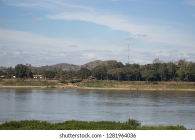riverbank along the River Mekong