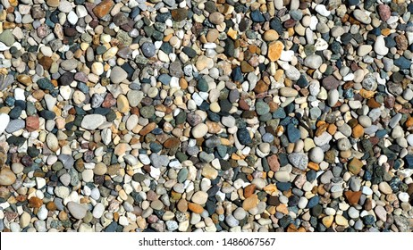 Riverbed Gravel photo as a texture