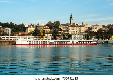 Riverboat on the Danube  river, Belgrade, Serbia
