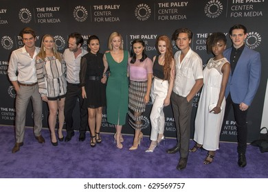 Riverdale Cast attends PaleyLive LA event with the cast of 'Riverdale', April 27th, 2017 in Paley Center for Arts, Beverly Hills CA..