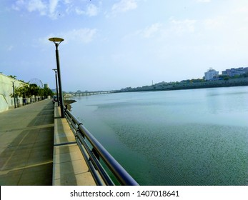 Riverfront at Sabarmati river, Ahmedabad, Gujarat