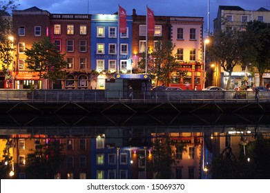 Riverside buildings in Dublin!