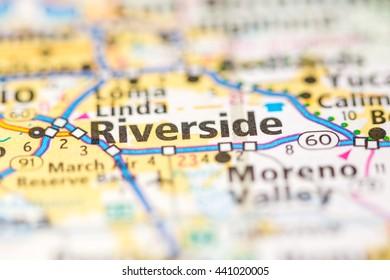 Riverside Map Images, Stock Photos & Vectors | Shutterstock