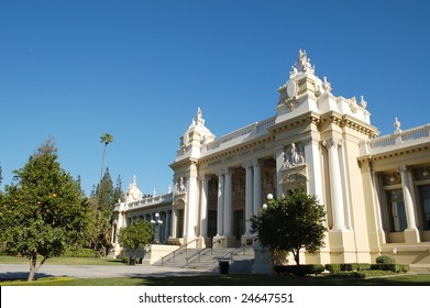 Riverside County courthouse; Riverside, California