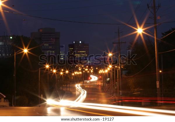 Riverside Drive view of City Buildings