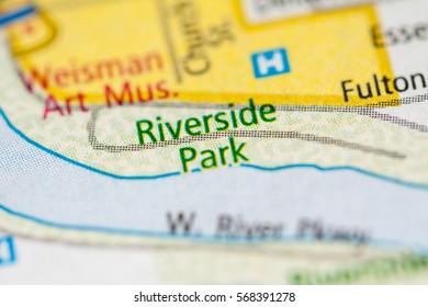 Riverside Park. Minnesota. USA