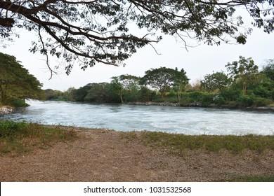riverside riverbank river