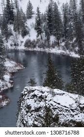 Riverside State Park - Spokane WA - Winter