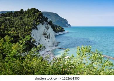 Riviera del Conero, regional park, province of Ancona, Marche Italy
