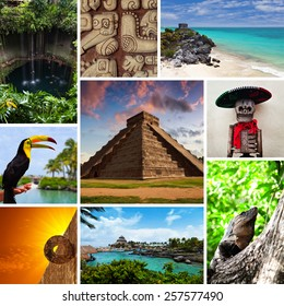 Riviera Maya Views Collage