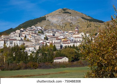 Rivisondoli (Abruzzo, Italy) - Landscape of the little pictoresque town in Abruzzo, Italy