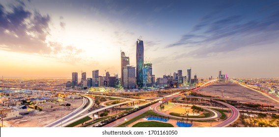 Riyadh city towers in Saudi Arabia