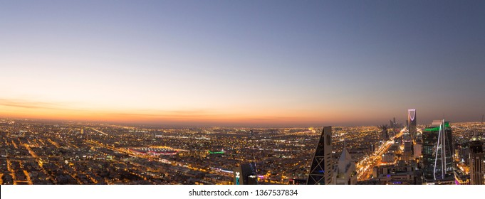 Riyadh, Saudi Arabia - February 04 2016: Riyadh City
