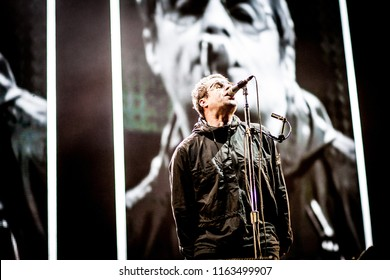 Rize Presents Liam Gallagher at Emirates Old Trafford Lancashire Cricket,  Emirates Old Trafford, Lancashire Cricket Ground, 18th August 2018
