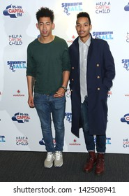 Rizzle Kicks at the Capital FM Summertime ball 2013 held at Wembley Stadium, London. 09/06/2013