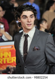 "RJ Mitte at the world premiere of ""John Carter"" at the Regal Cinemas L.A. Live. February 22, 2012  Los Angeles, CA Picture: Paul Smith / Featureflash"