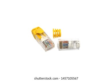RJ45 have problem when make ethernet cable and therefore cutting off RJ45